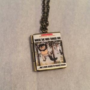 Where the Wild Things Are Book Necklace